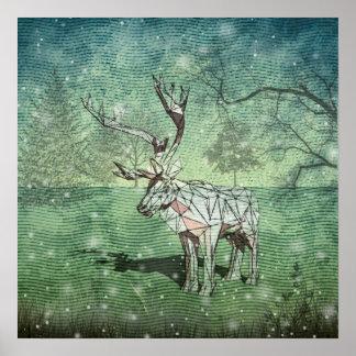 Oh My Deer~ Merry Christmas! Poster