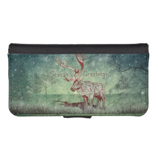Oh My Deer~ Merry Xmas! | iPhone 5/5s Wallet Case