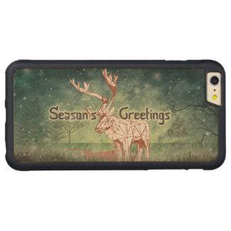 Oh My Deer~ Merry Xmas! |iPhone 6 Plus Wood Cases