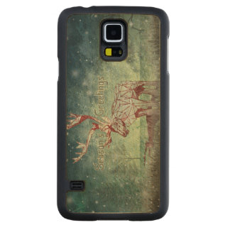 Oh My Deer! | Samsung Galaxy S5 Wood Cases