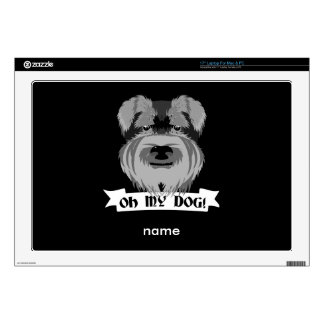 Oh My Dog Terrier Decals For Laptops