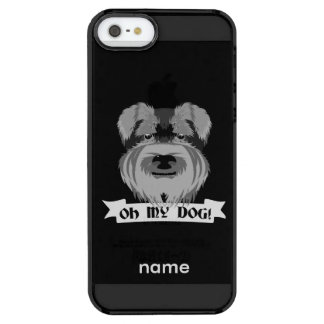 Oh My Dog Terrier Uncommon Clearly™ Deflector iPhone 5 Case