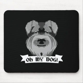 Oh My Dog Terrier Mouse Pad