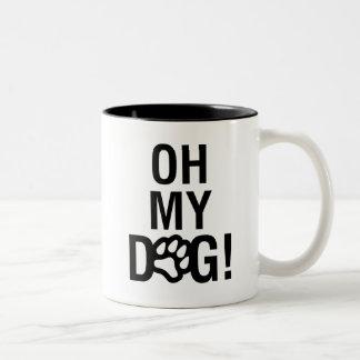 OH MY DOG! Two-Tone COFFEE MUG