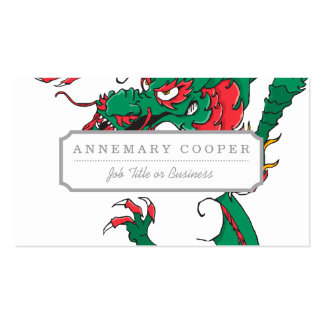 Oh My Dragon! Business Card