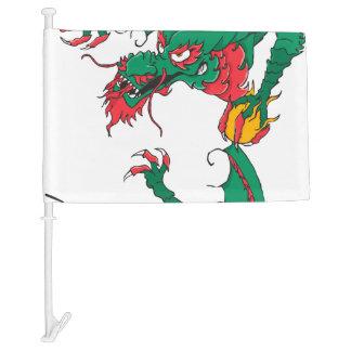 Oh My Dragon! Car Flag