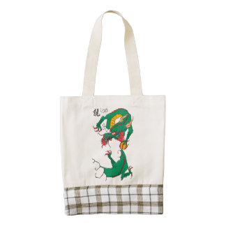 Oh My Dragon! Zazzle HEART Tote Bag