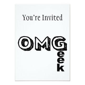 Oh My Geek Card