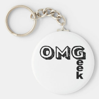 Oh My Geek Keychain