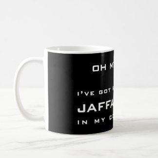 OH MY GOD! ... I'VE GOT SOME ******** JAFFA CAKES COFFEE MUG