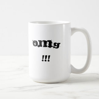 Oh My God Classic White Coffee Mug