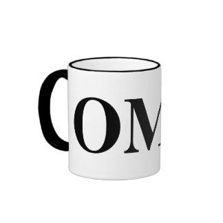 OH MY GOD RINGER COFFEE MUG