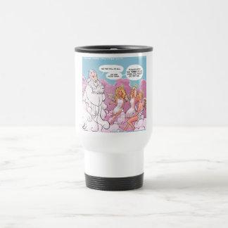 Oh My God (OMG) Angels Text Funny Coffee Mugs