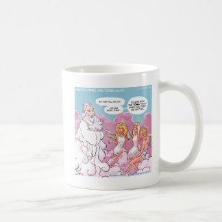 Oh My God (OMG) Angels Text Funny Mug