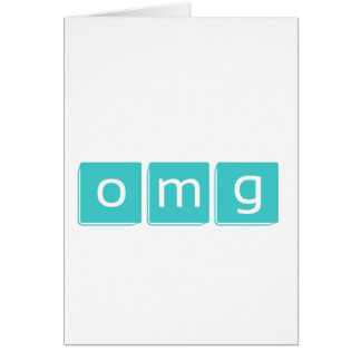 Oh My Goodness Card