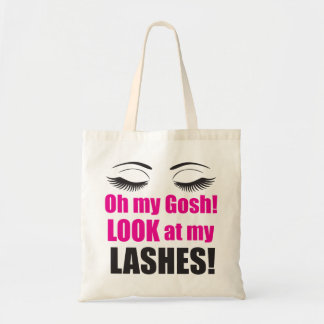 Oh My Gosh! Lashes Totes Bag