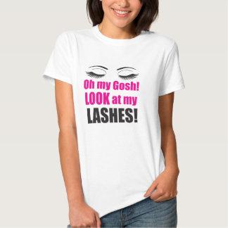 Oh My Gosh Look at My Lashes! Shirts