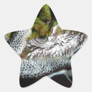 Oh my head star sticker