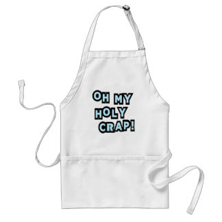 Oh My Holy Crap! Adult Apron