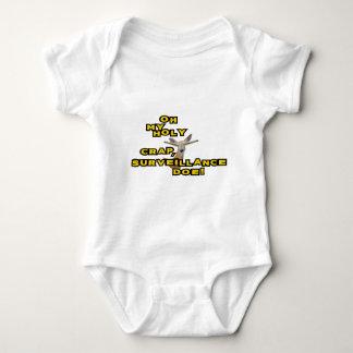 Oh My Holy Crap Surveillance Doe Baby Bodysuit