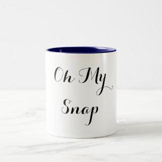Oh My Snap Two-Tone Coffee Mug