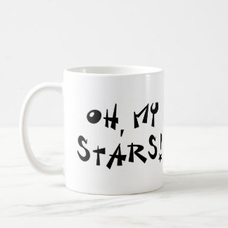 Oh, my stars! coffee mug
