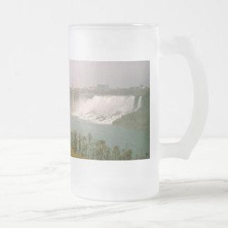 Oh Niagara! Frosted Glass Beer Mug