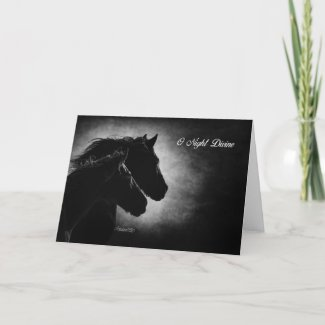 Oh Night Divine Holiday Card