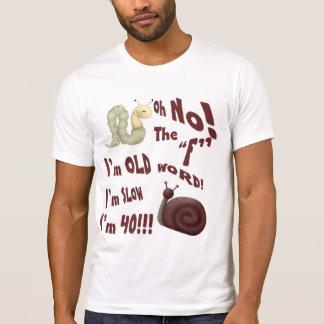 """Oh ningún la palabra de """"F"""" Camisas"""