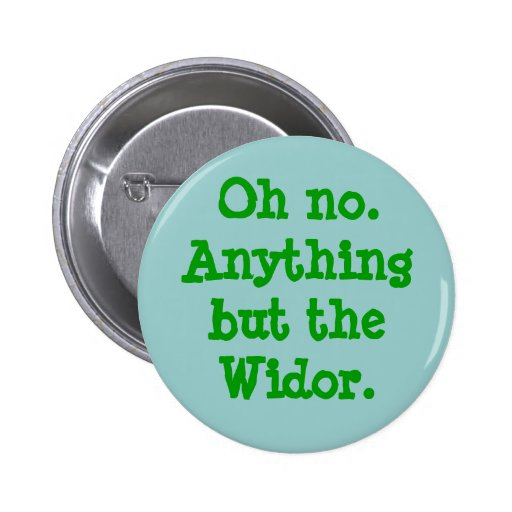 Oh no. Anything but the Widor -  button