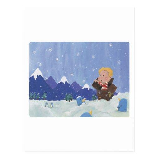 Oh no ártico tarjetas postales