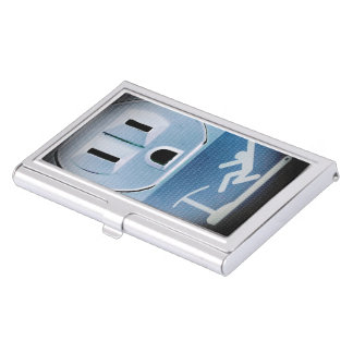 Oh No by Shirley Taylor Business Card Holder