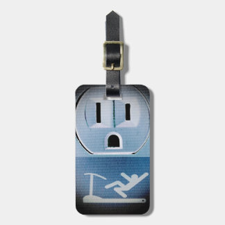 Oh No by Shirley Taylor Luggage Tag