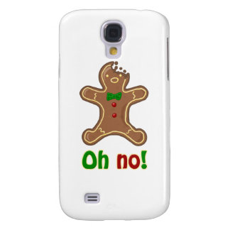 Oh no! Gingerbread Man Samsung S4 Case