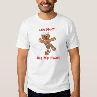 ¡Oh no!!! Hombre de pan de jengibre Playeras