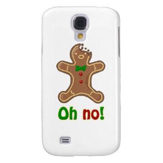 ¡Oh no! Hombre de pan de jengibre Samsung Galaxy S4 Cover