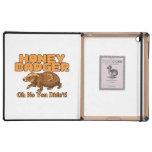 Oh No Honey Badger iPad Covers