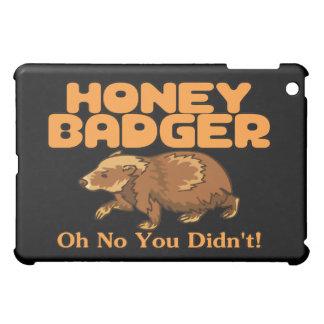 Oh No Honey Badger iPad Mini Cover