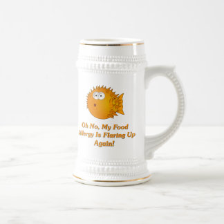 Oh No, My Food Allergy Is Flaring Up Again! Coffee Mug