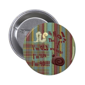 """Oh No The """"F"""" Word Pinback Buttons"""