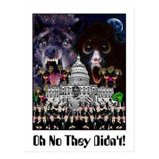 Oh No They Didn't! Postcard