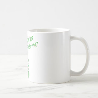 OH NO YOU DI-INT! Retro Housewife Green Coffee Mug