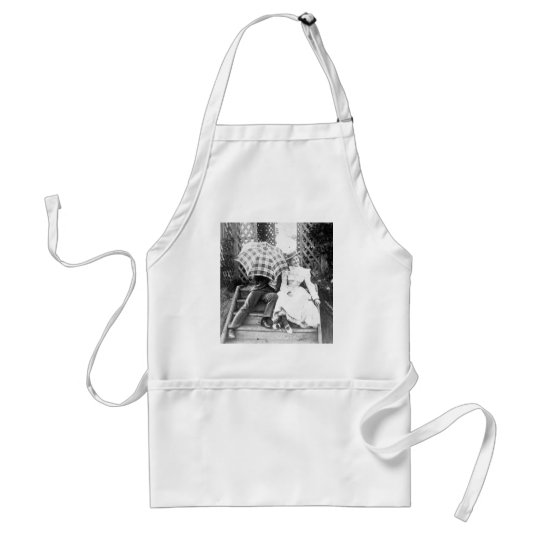 Oh No You Don't! (B&W) Adult Apron