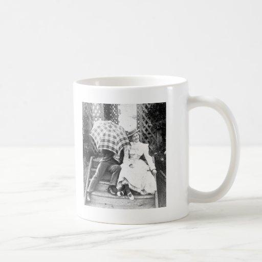 Oh No You Don't! (B&W) Classic White Coffee Mug
