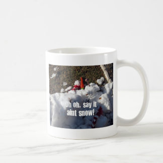 Oh Oh, Say it aint snow! Coffee Mug
