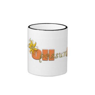 ¡Oh oposum! Taza del logotipo
