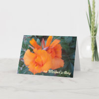 OH, Orange Mother's Day Card card