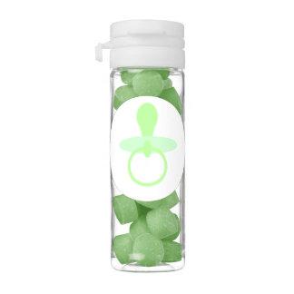 Oh pacificador verde del bebé