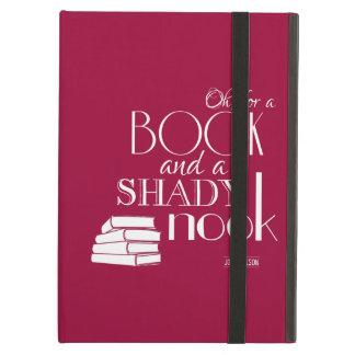 Oh para un libro y un escondrijo sombrío