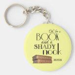 Oh para un libro y un escondrijo sombrío llaveros personalizados